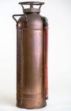 Weinlese-kupferner Feuerlöscher Stockbilder