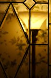 Weinlese-Lampe Stockfotos