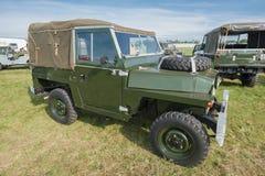 Weinlese Land Rover Lizenzfreie Stockfotografie