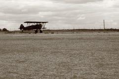 Weinlese-Landung lizenzfreie stockbilder