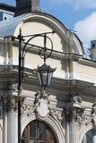 Weinlese-Laterne, St Petersburg stockbild
