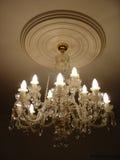Weinlese-Leuchter Stockbild