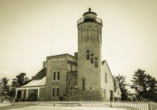 Weinlese-Leuchtturm Lizenzfreie Stockfotos
