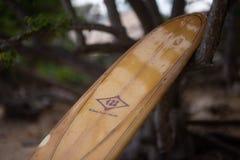 Weinlese longboard stockbilder