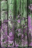 Weinlese malte hölzerne Hintergrundbeschaffenheit hölzernen verwitterten ru lizenzfreie stockbilder