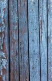 Weinlese malte hölzerne Hintergrundbeschaffenheit hölzernen verwitterten ru lizenzfreies stockbild