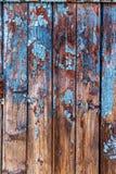 Weinlese malte hölzerne Hintergrundbeschaffenheit hölzernen verwitterten ru lizenzfreie stockfotos