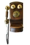 Weinlese manuell durchgedrehtes Telefon Stockfotografie