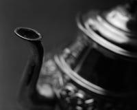 Weinlese-Marokkaner-Teekanne Stockbild