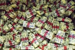 Weinlese-Mary Jane-Süßigkeiten stockfoto