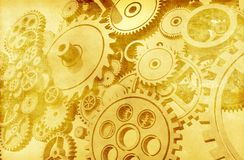 Weinlese-Mechaniker-Hintergrund Stockbilder