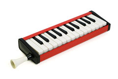 Weinlese Melodica Stockfoto