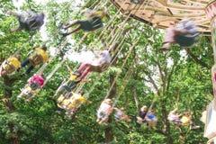 Weinlese Merry-go-round Lizenzfreies Stockbild