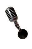 Weinlese-Mikrofon Stockfoto