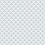 Weinlese-Monolinie nahtloses Muster Lizenzfreies Stockbild