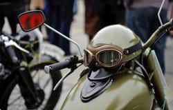 Weinlese moto Stockfotografie