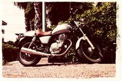 Weinlese Motorbike.jpg Stockbild
