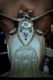 Weinlese-Motorrad Stockfotografie