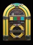 Weinlese-Musikautomat Stockfoto