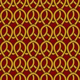 Weinlese-Muster im nahtlosen Entwurf stockfotografie