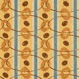 Weinlese-Muster mit Ovalen Lizenzfreies Stockfoto