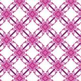Weinlese-nahtloses Muster Stockbild