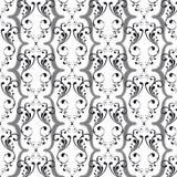 Weinlese-nahtloses Muster (Vektor) Lizenzfreie Stockfotos