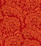 Weinlese-nahtloses Tapeten-Muster lizenzfreie abbildung