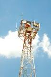 Weinlese-Navigations-Leuchtfeuer Lizenzfreies Stockfoto
