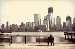 Weinlese New York City Lizenzfreie Stockfotos