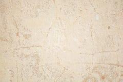 Weinlese oder grungy weißer Hintergrund des natürlichen Klebers oder der alten Steinbeschaffenheit als Retro- Musterwand Es ist e Lizenzfreie Stockfotografie