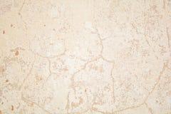 Weinlese oder grungy weißer Hintergrund des natürlichen Klebers oder der alten Steinbeschaffenheit als Retro- Musterwand Es ist e Stockfotos