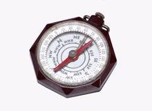 Weinlese-Pfadfinder des Amerika-Kompassses stockbilder