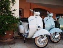 Weinlese Piaggio-Vespa 150 Stockbild
