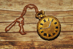 Weinlese pocketwatch Stockbild