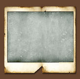 Weinlese-Polaroidfelder Stockbild