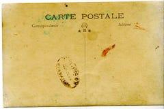 Weinlese-Postkarte Lizenzfreie Stockfotografie