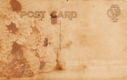 Weinlese-Postkarte Stockfotografie