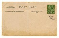 Weinlese-Postkarte Stockbilder