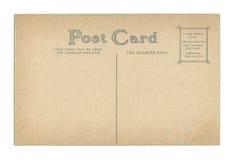 Weinlese-Postkarte Lizenzfreies Stockbild