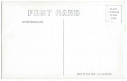 Weinlese-Postkarten-Rückseiten-Grafik 1940s-1950s Lizenzfreie Stockbilder