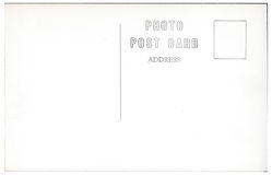 Weinlese-Postkarten-Rückseiten-Grafik 1940s-1950s Stockfotos