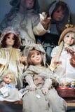 Weinlese-Puppen Lizenzfreie Stockbilder
