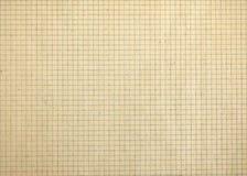 Weinlese quadrierte leeres Mathepapier Stockfoto