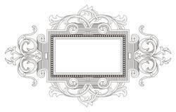 Weinlese-Weinlese-Rahmen Lizenzfreie Stockfotografie