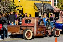 Weinlese-Ratte Rod, Nord-Charleston, Sc Stockbilder