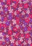 Weinlese-Retro- Gewebe-Muster-Hintergrund Lizenzfreies Stockfoto