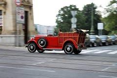 Weinlese Roadster Lizenzfreie Stockbilder