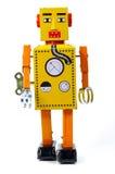 Weinlese-Roboter Stockfotos