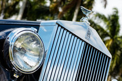 Weinlese Rolls Royce Stockfoto
